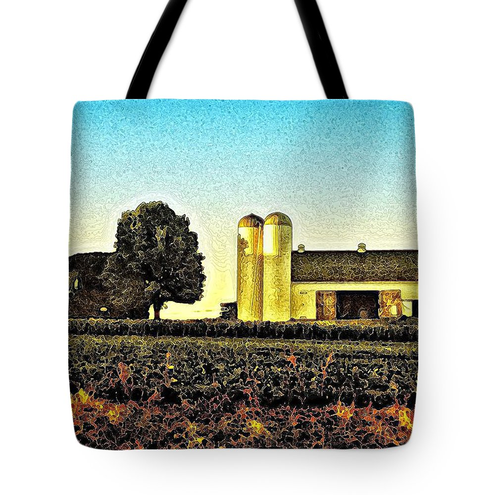 Heartland Tote Bag featuring the photograph Heartland by Bill Cannon