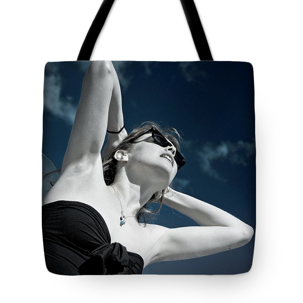 Loriental Tote Bag featuring the photograph Heat by Loriental Photography