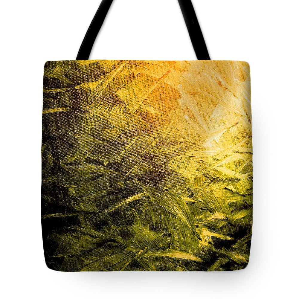 Acrylic Tote Bag featuring the painting The Light by Dirk Weed