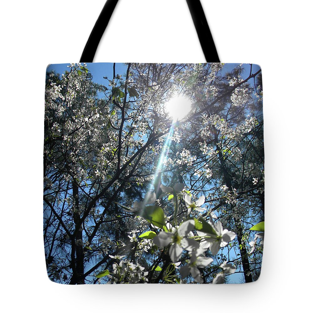 Heaven Tote Bag featuring the photograph Heaven Sent Spring 2018 by Matthew Seufer