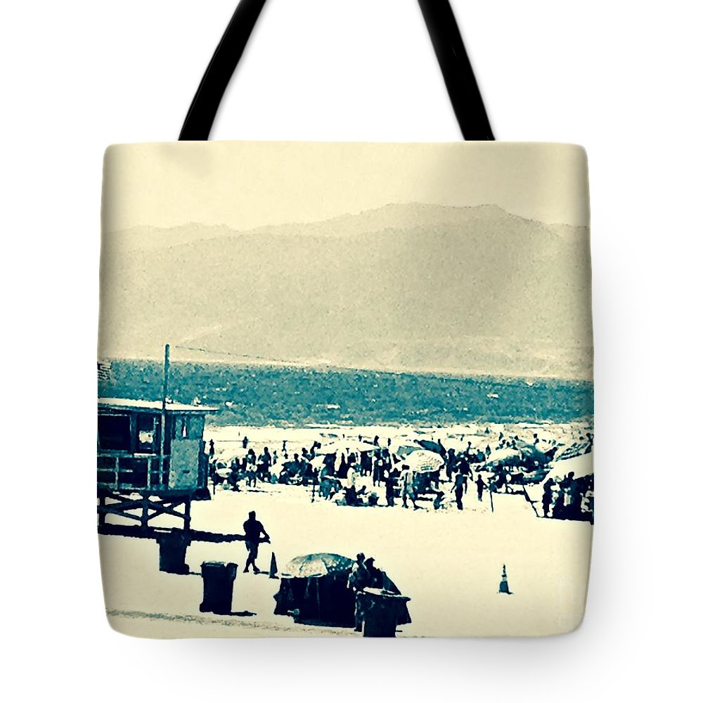Beach Tote Bag featuring the photograph Heavenly Beach In Reach by Jacqueline Howe