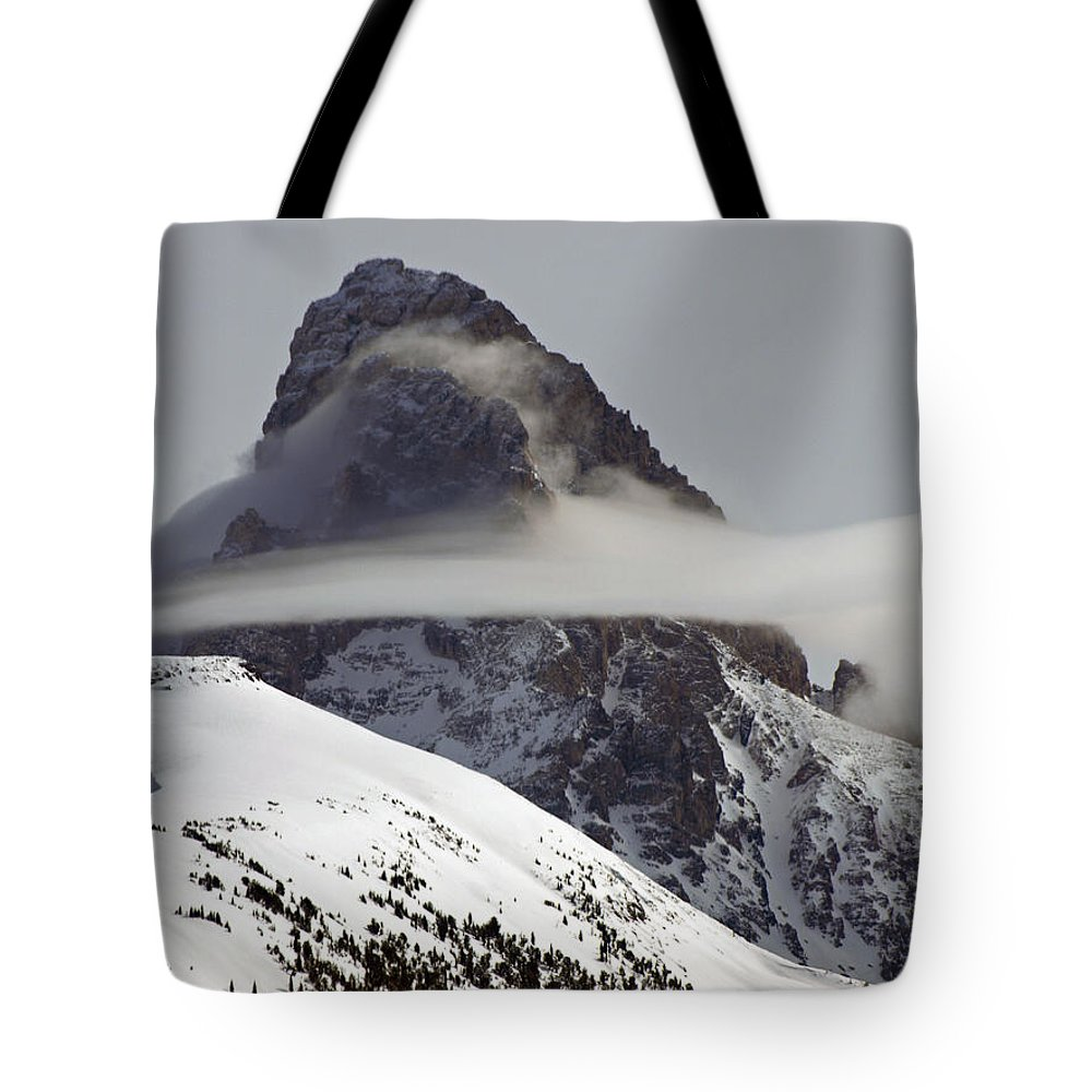 Landscape Tote Bag featuring the photograph Heaven's Silk by DeeLon Merritt