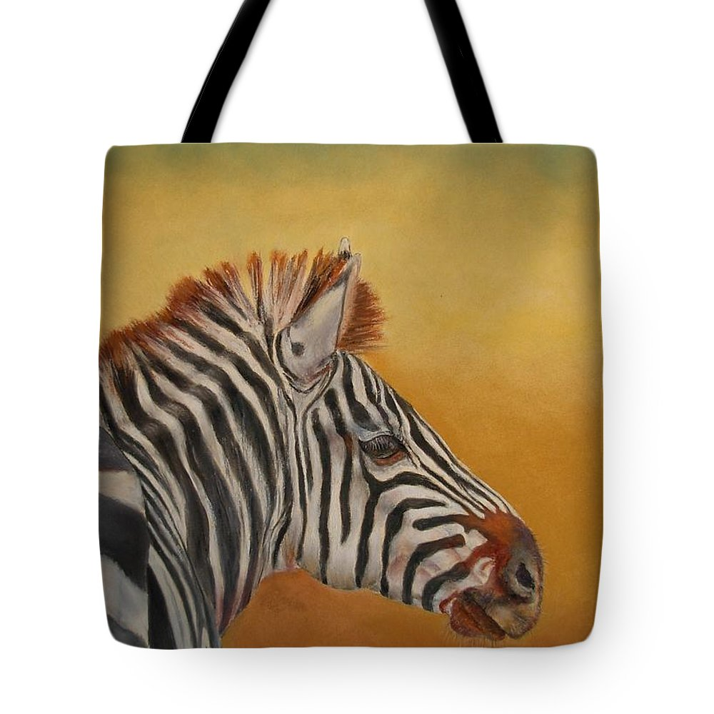 Africa Tote Bag featuring the painting Hello Africa by Ceci Watson