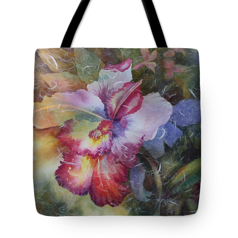 Watercolors By Tara Moorman Tote Bag featuring the painting Hello Gorgeous by Tara Moorman