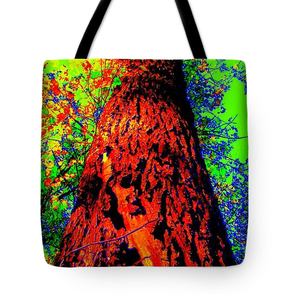 Hello Mother Tote Bag featuring the photograph Hello Mother by Ed Smith