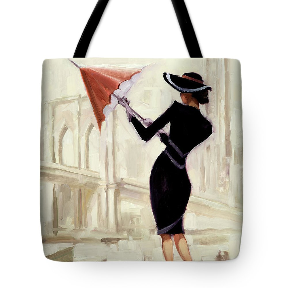 Impressionist Style Paintings Tote Bags
