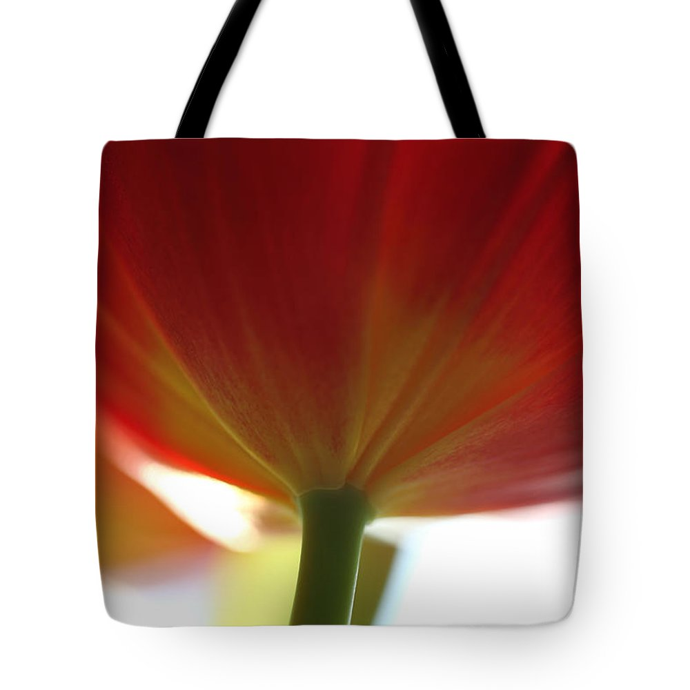 Tulip Tote Bag featuring the photograph Help Is Here by Amanda Barcon