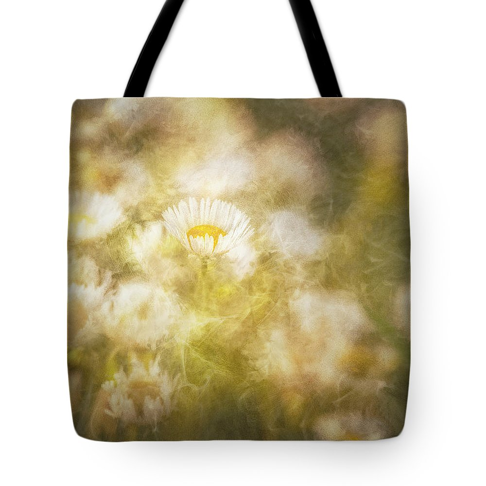 Blurry Tote Bag featuring the digital art Her Beauty Alone by Will Jacoby Artwork