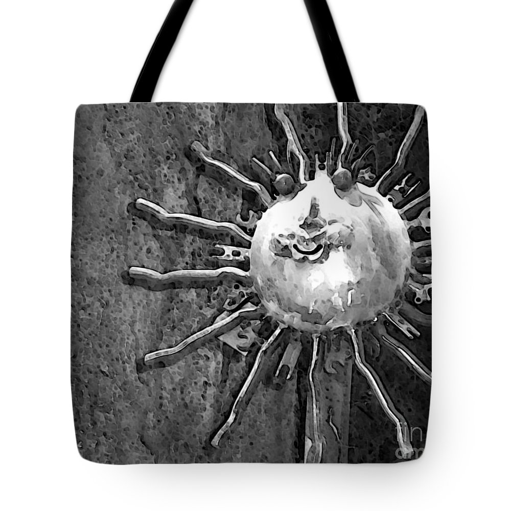 Sun Tote Bag featuring the photograph Here Comes The Sun by Debbi Granruth
