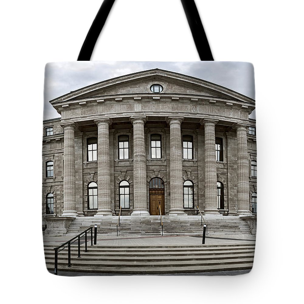Qu�bec Tote Bag featuring the photograph Heritage by Audrey Wilkie