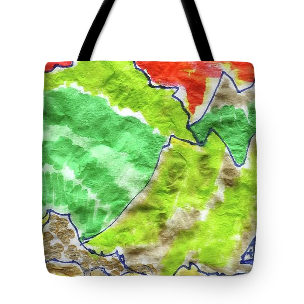 Hermit Tote Bag featuring the mixed media Hermit's Hut by Don Koester