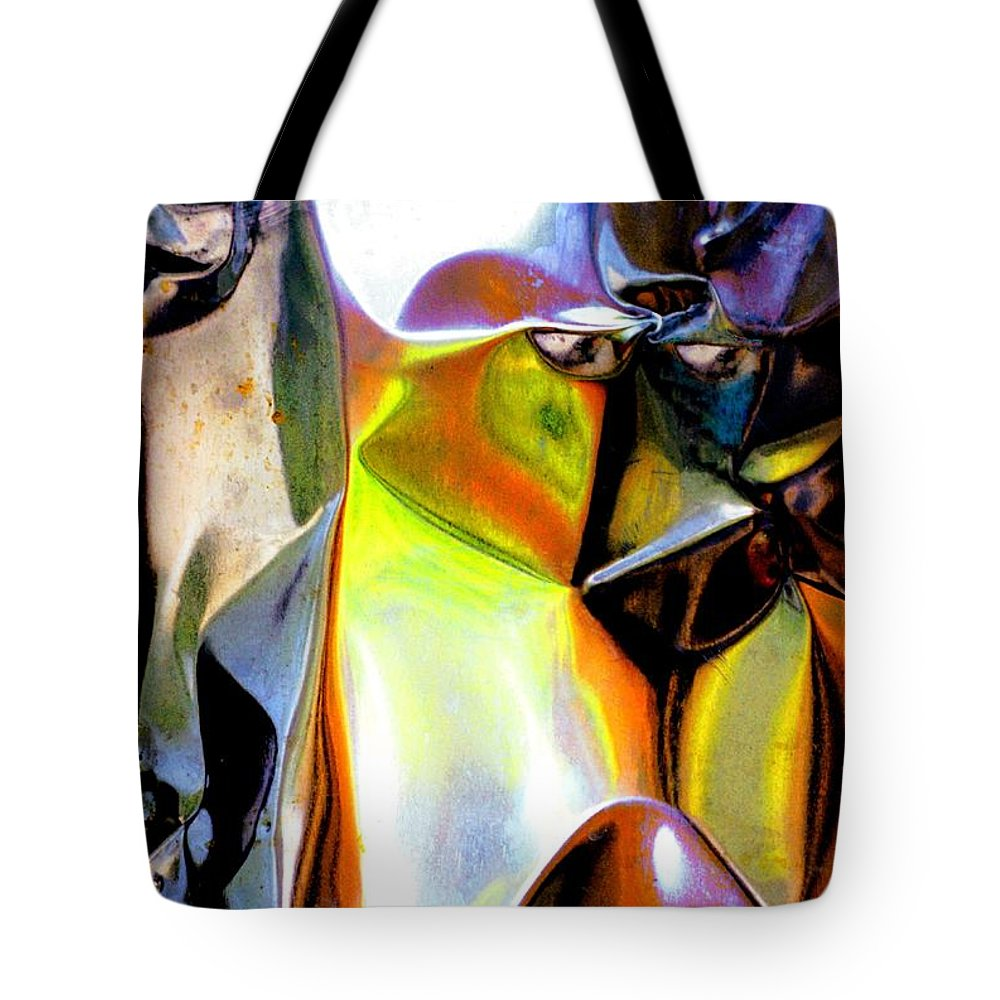 Fun Tote Bag featuring the painting Hi, Ghost by Alexander Gerasimov