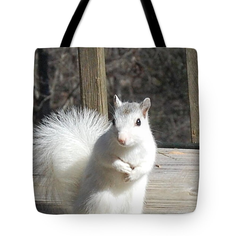 Wild Life Tote Bag featuring the photograph Hi by Rex Owens