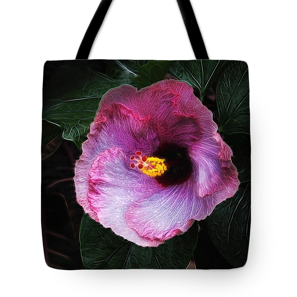 Hibiscus flower tote bag for sale by tom mc nemar hibiscus tote bag featuring the photograph hibiscus flower by tom mc nemar izmirmasajfo