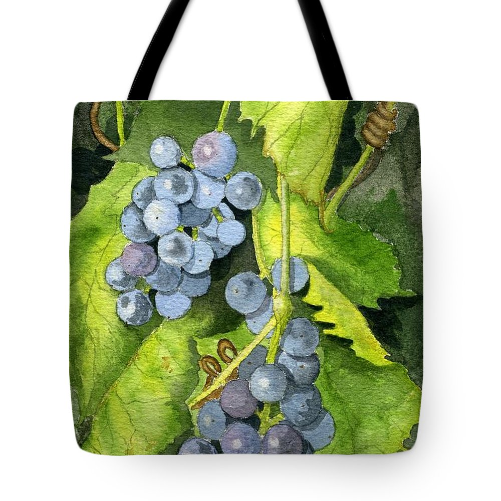 Frog Tote Bag featuring the painting Hidden IIi Part 2 by Mary Tuomi