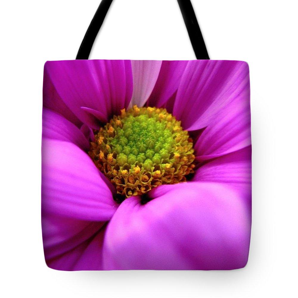 Flower Tote Bag featuring the photograph Hidden Inside by Rhonda Barrett