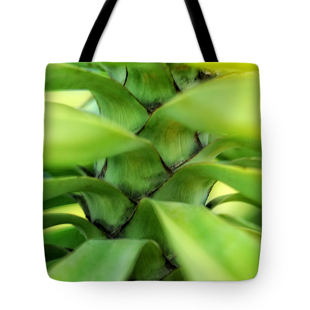 Plant Tote Bag featuring the photograph Hidden Landscape by Donna Blackhall