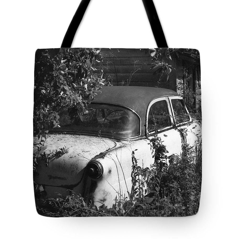 Abandoned Tote Bag featuring the photograph Hidden Treasure by Richard Rizzo