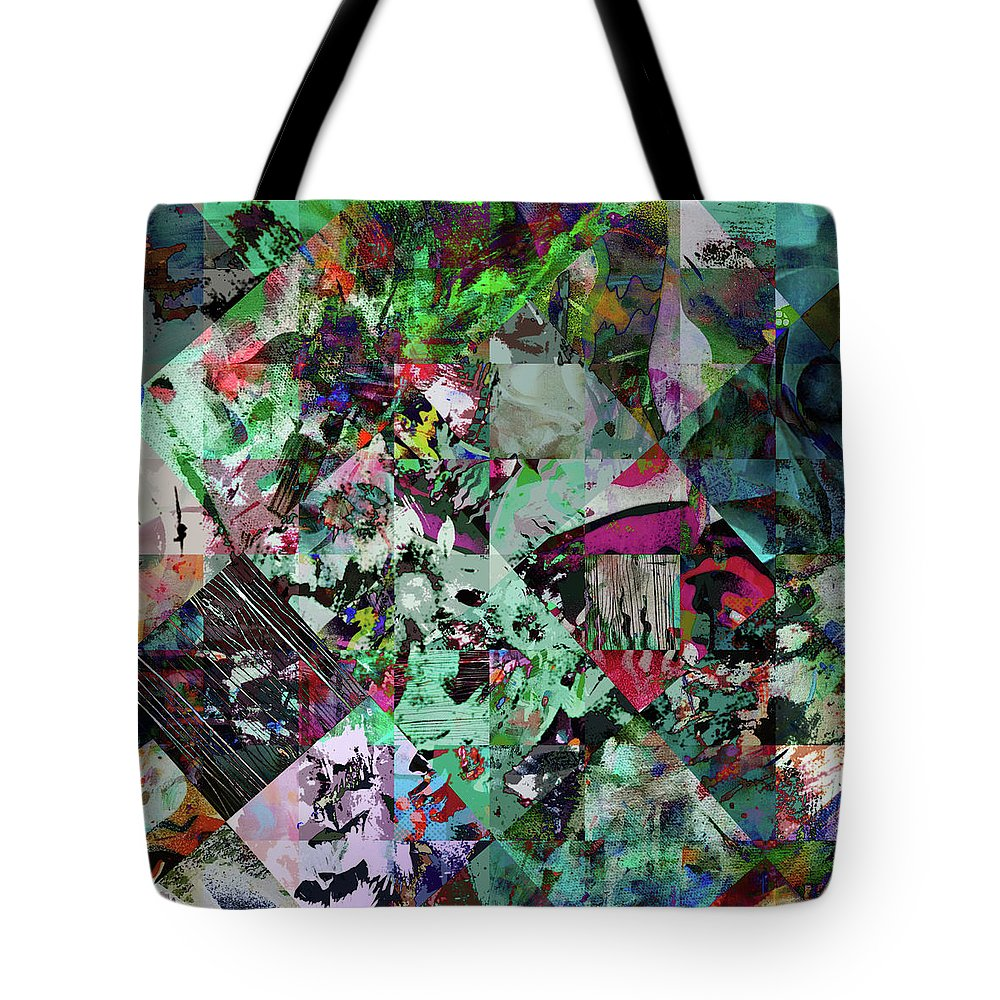 Ugly Tote Bag featuring the digital art Hideopathic by Tom Deacon