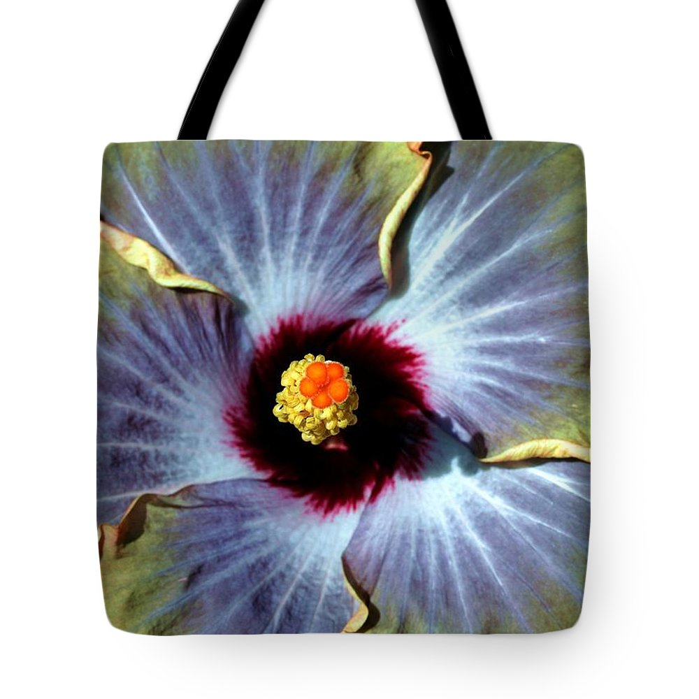 Flower Tote Bag featuring the photograph Hieroglyphics Of Nature by Mitch Cat