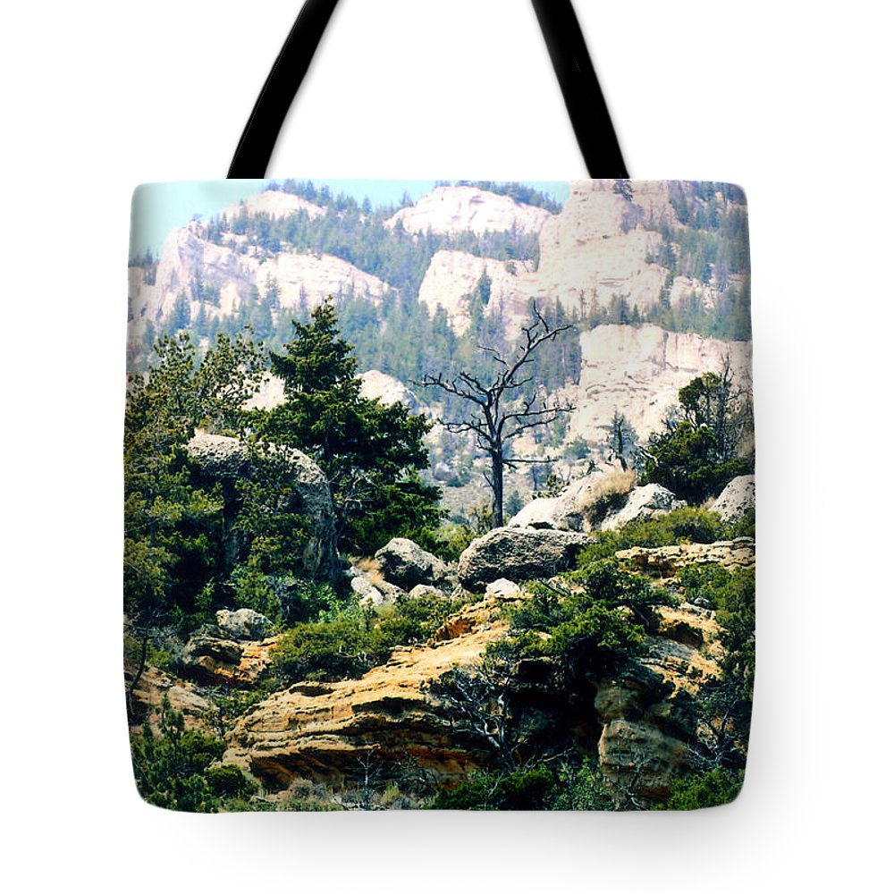 Mountains Tote Bag featuring the photograph High Lonesome by Rusty Ruckel