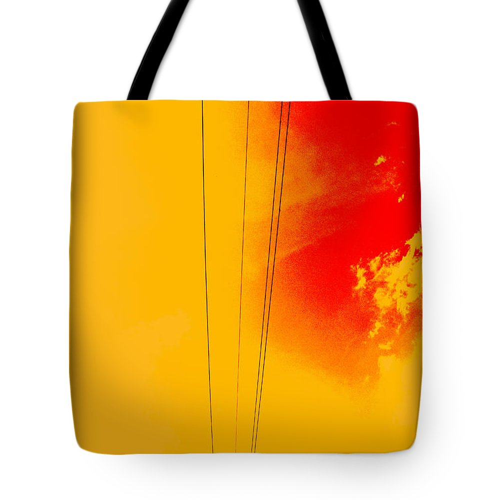 High Powered Tote Bag featuring the photograph High Powered by Ed Smith