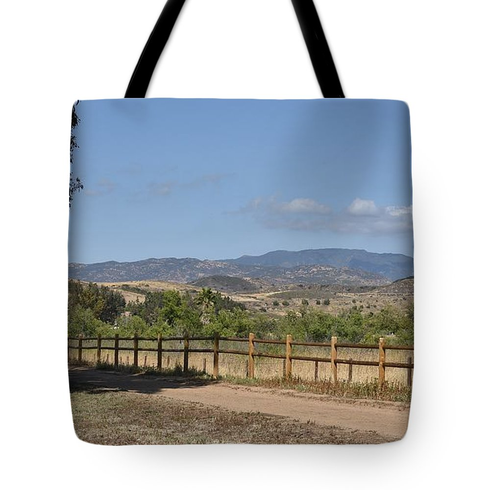 Linda Brody Tote Bag featuring the photograph Hiking Trail To Peters Canyon by Linda Brody