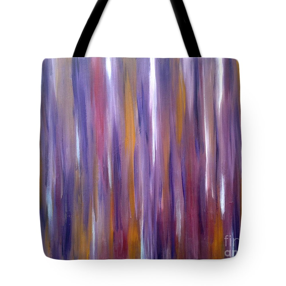 Wood Tote Bag featuring the painting Hillbilly Love Shack by Go Inspire Beauty