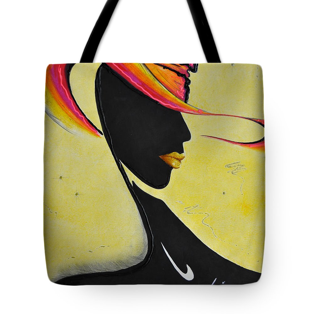 Autumn Tote Bag featuring the painting Him by Luis McDonald