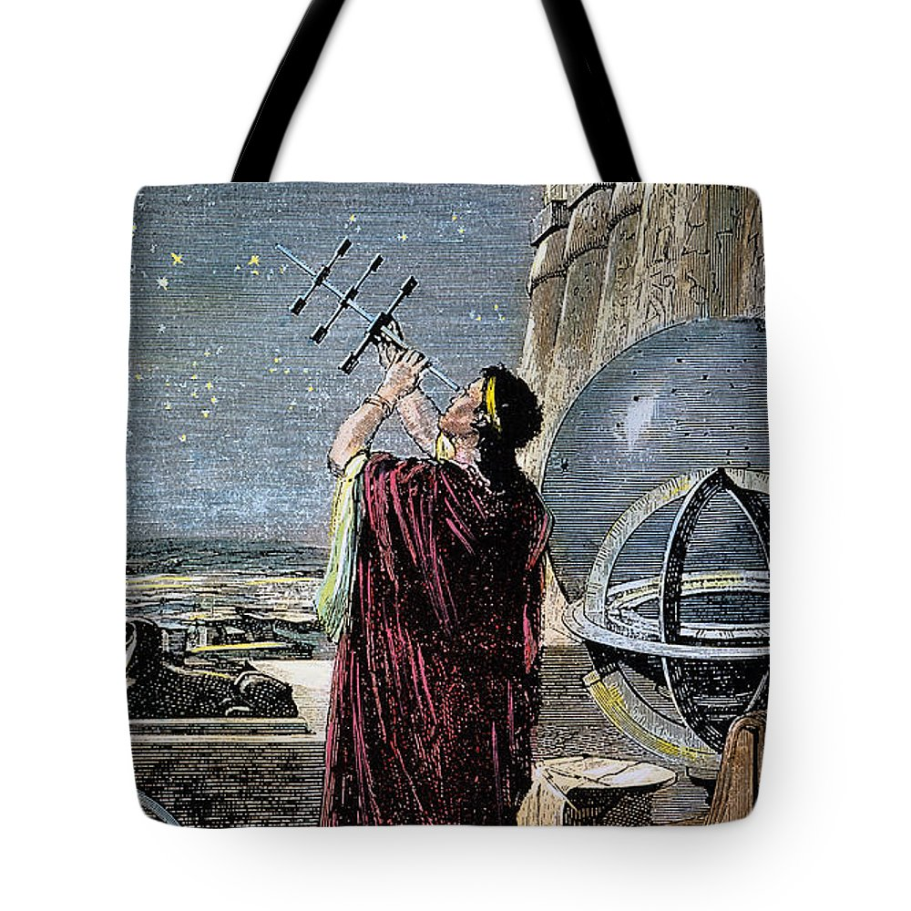 100 B.c Tote Bag featuring the photograph Hipparchus (146-127 Bc) by Granger