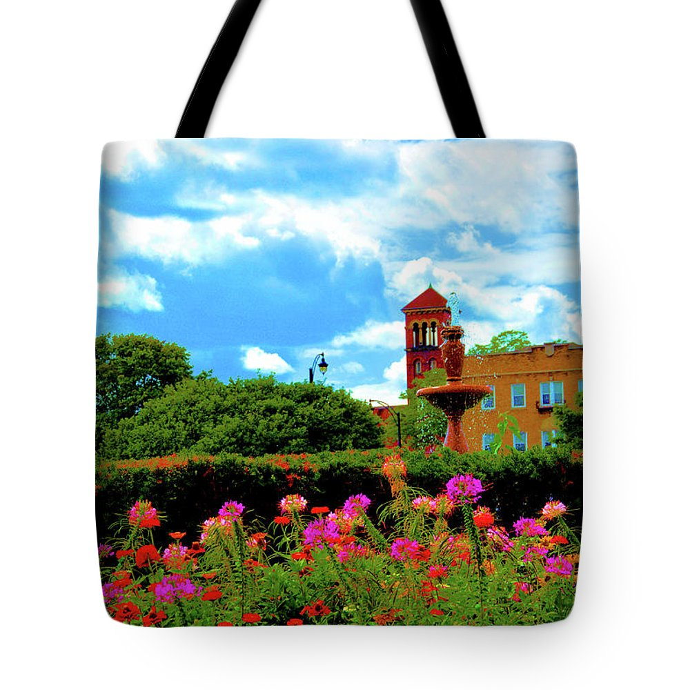 Nature Tote Bag featuring the photograph Historic Rochester Gardens by Richard Jenkins