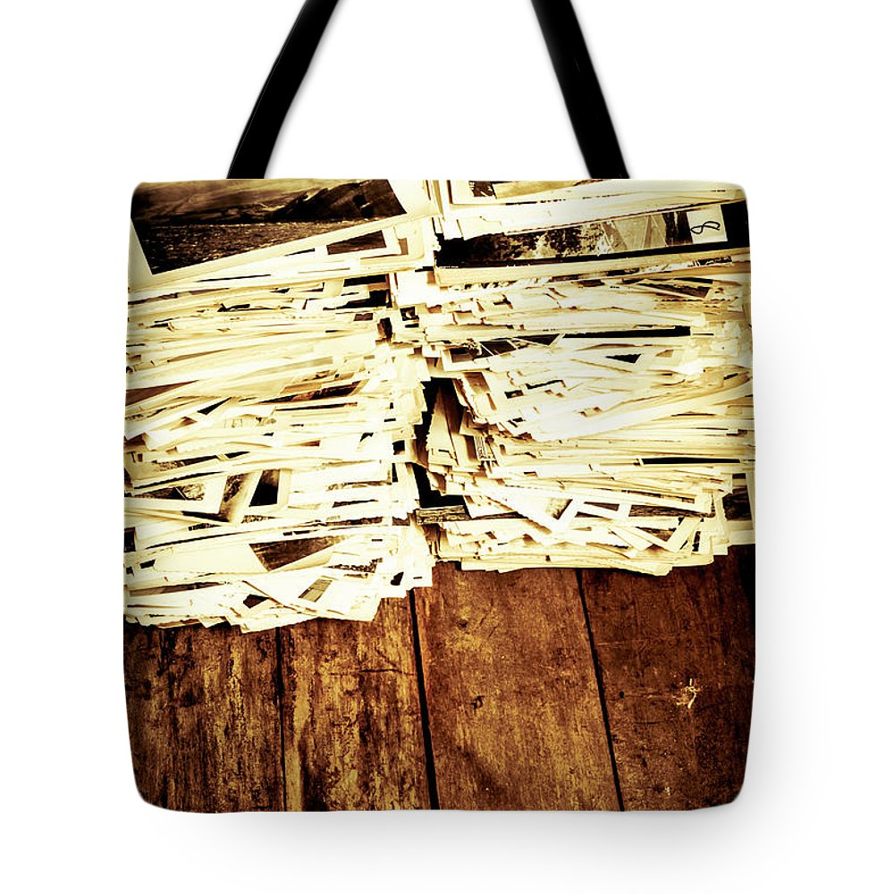 Photographs Tote Bag featuring the photograph History In Photos by Jorgo Photography - Wall Art Gallery