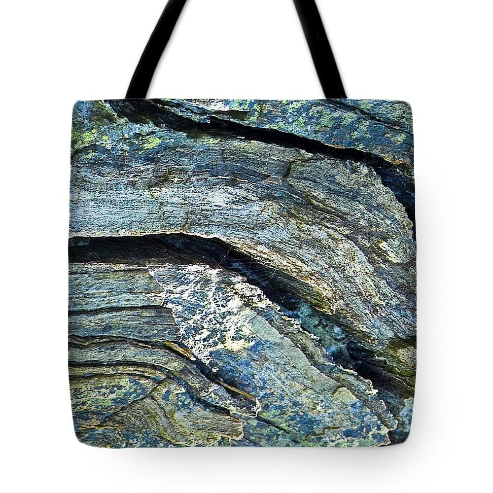 Stone Tote Bag featuring the photograph History Of Earth 7 by Heiko Koehrer-Wagner