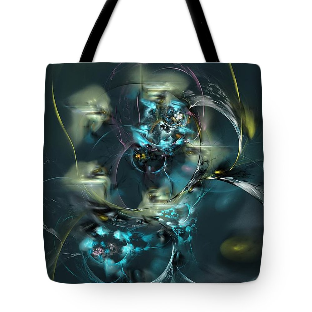 Fantasy Tote Bag featuring the digital art Hive by David Lane
