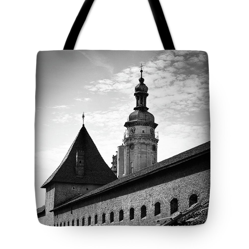 Travels Tote Bag featuring the photograph Hlyniany Gate. Lviv, 2011. by Mayk's PhotoArt