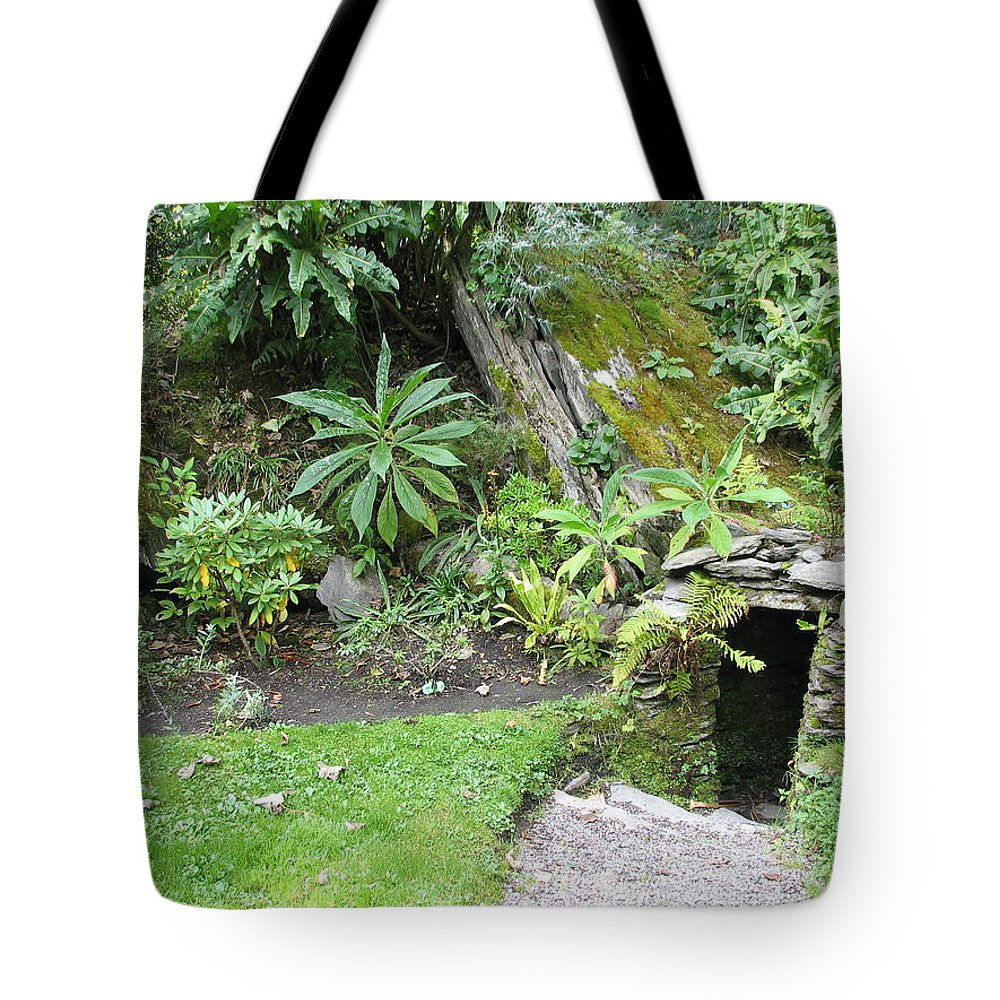 Hobbit Tote Bag featuring the photograph Hobbit Home by Kelly Mezzapelle