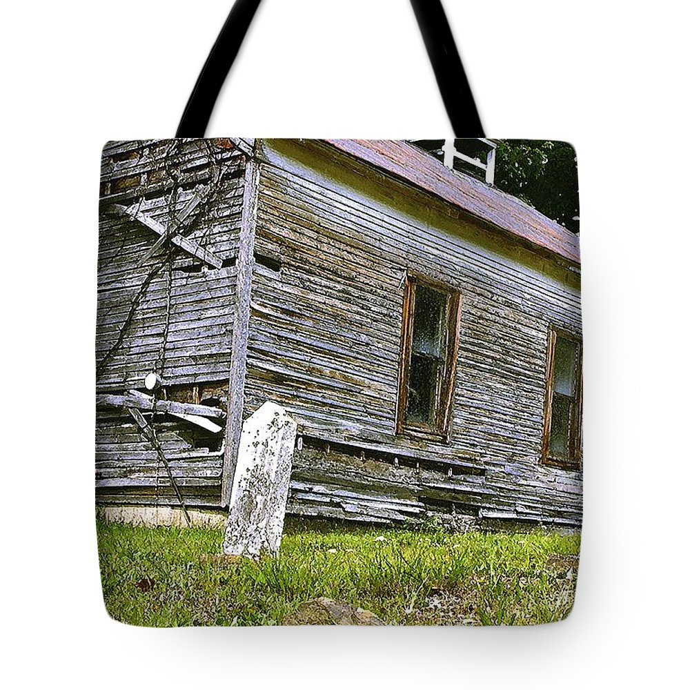 Church Tote Bag featuring the photograph Hocking Hills Church by Nelson Strong