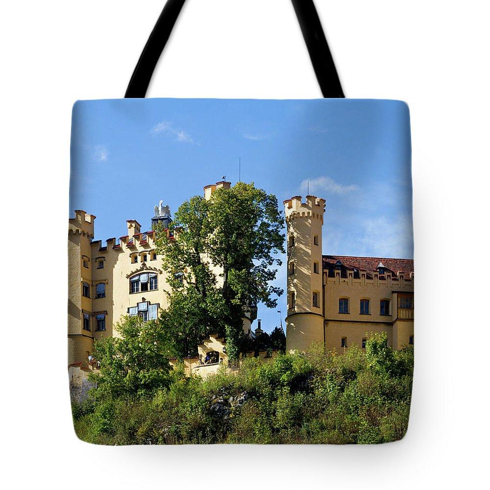 Schloss Tote Bag featuring the photograph Holenschwangau Castle 4 by Bernard Barcos