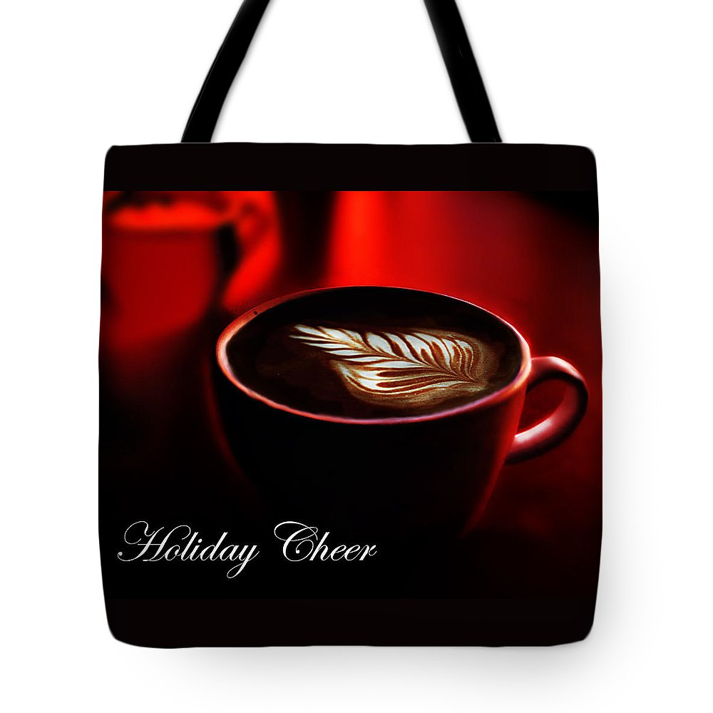 Holiday Tote Bag featuring the photograph Holiday Cheer by Jeff Burgess