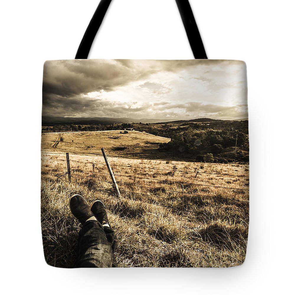 Holiday Tote Bag featuring the photograph Holiday In Tasmania by Jorgo Photography - Wall Art Gallery