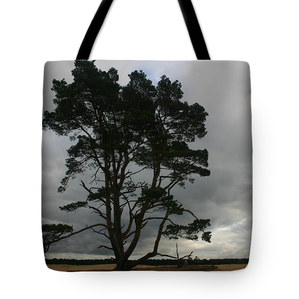 Storm Tote Bag featuring the photograph Holland Desert by Minaz Jantz