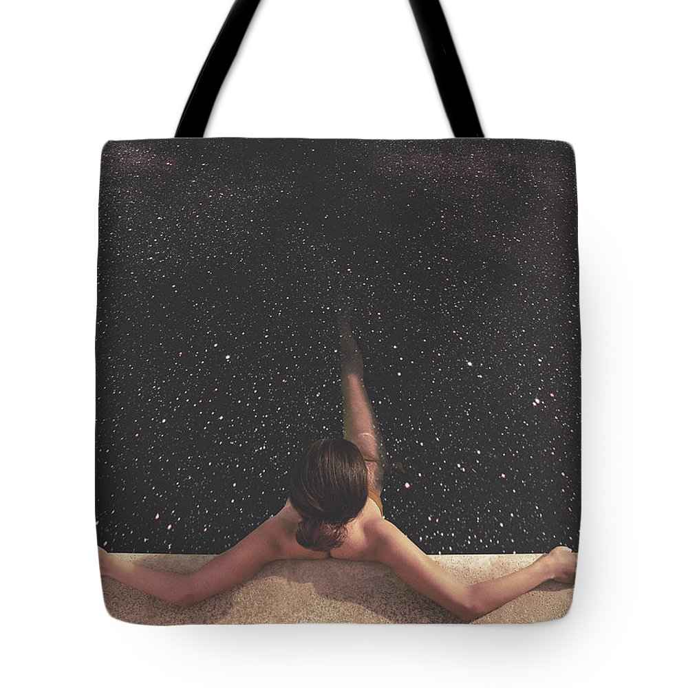 Collage Tote Bag featuring the photograph Holynight by Fran Rodriguez