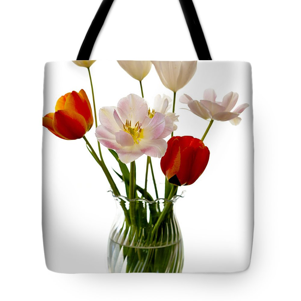 Flower Tote Bag featuring the photograph Home Grown by Marilyn Hunt
