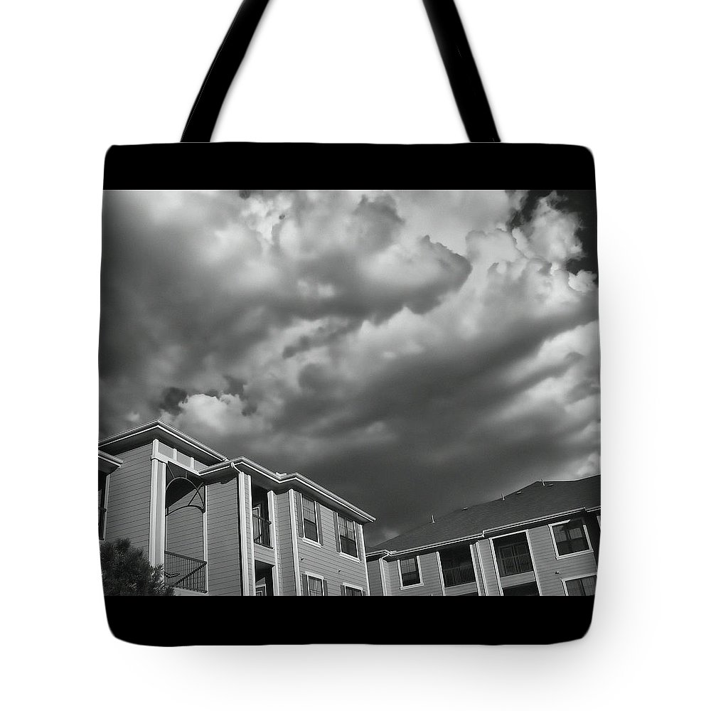 Clouds Tote Bag featuring the photograph Homecoming - The Sequel by Wendy J St Christopher
