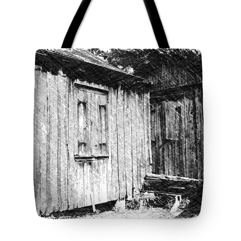 Louisiana Tote Bag featuring the photograph Homestead 3 by Dick Goodman