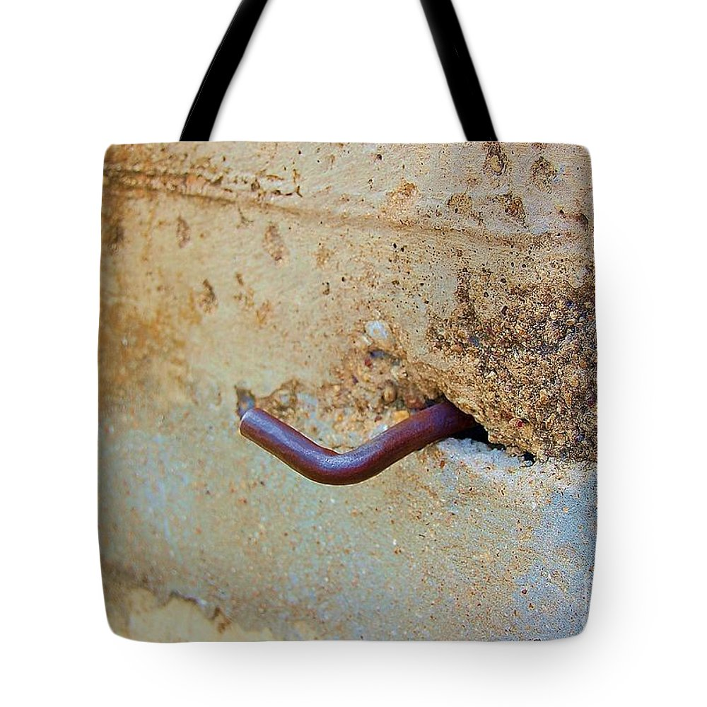 Metal Tote Bag featuring the photograph Hook by Debbi Granruth