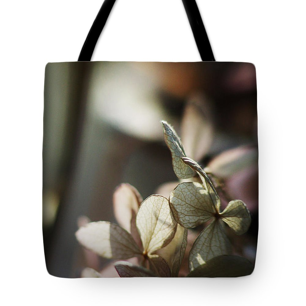 Flowers Tote Bag featuring the photograph Hope... by Arthur Miller