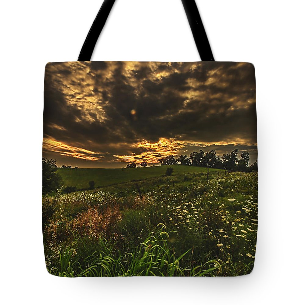 Storm Tote Bag featuring the photograph Hope by John Hannan