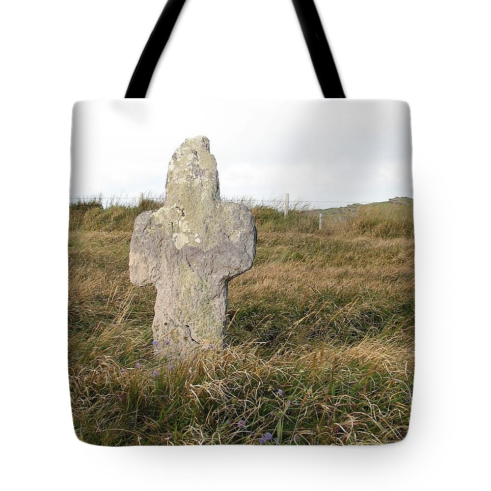 Cross Tote Bag featuring the photograph Hope by Kelly Mezzapelle