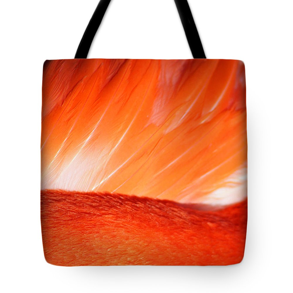 Flamingo Tote Bag featuring the photograph Hope by Mitch Cat